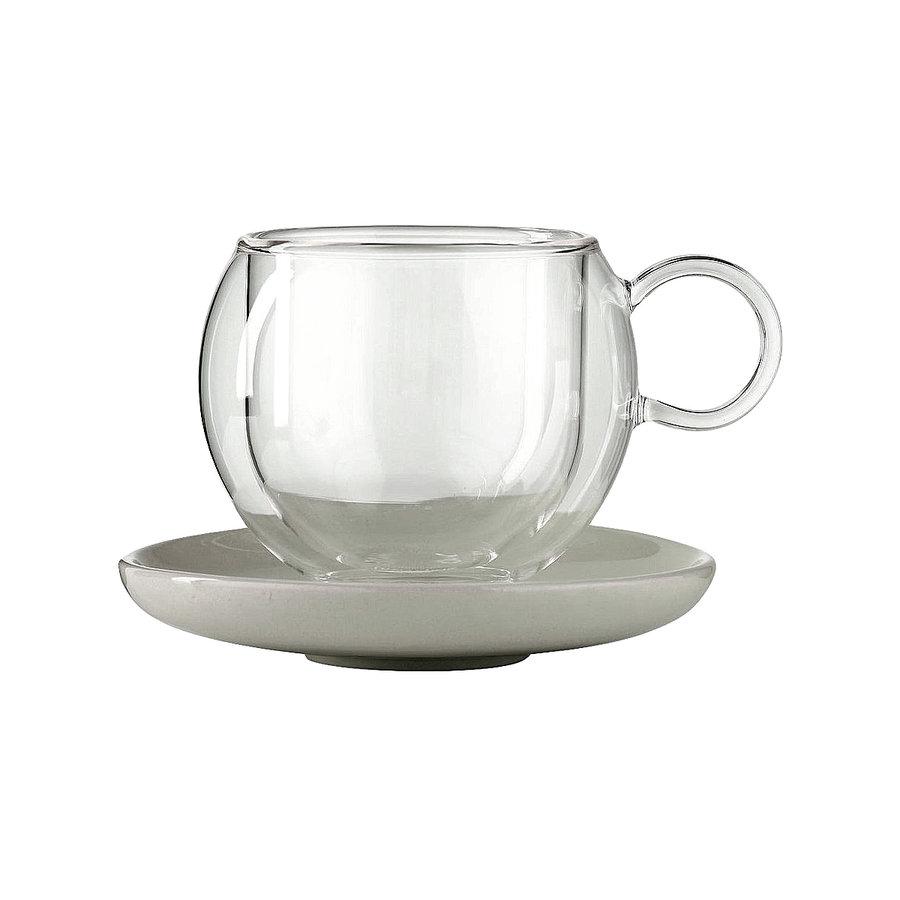 Чашка и блюдце LA CAFETIERE 180 мл
