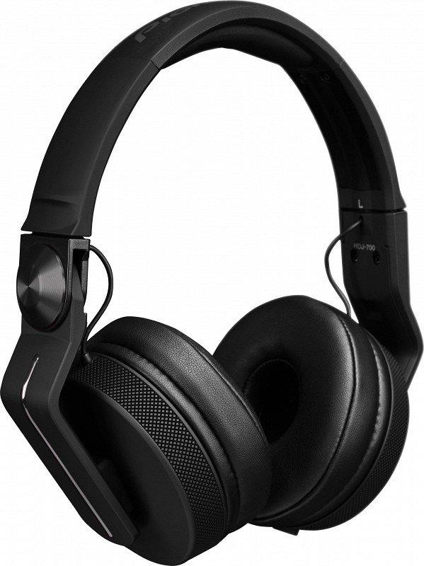 PIONEER HDJ-700-K - наушники для DJ, цвет Black.