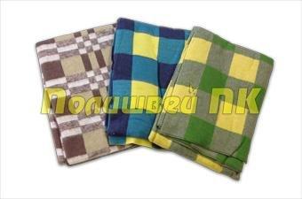 Одеяло Полишвей ПК Байка 140х205 1.5 СП Цветное «Премиум»