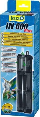 """Внутренний фильтр Tetra """"IN 600 Plus"""" для аквариумов до 100 л"""