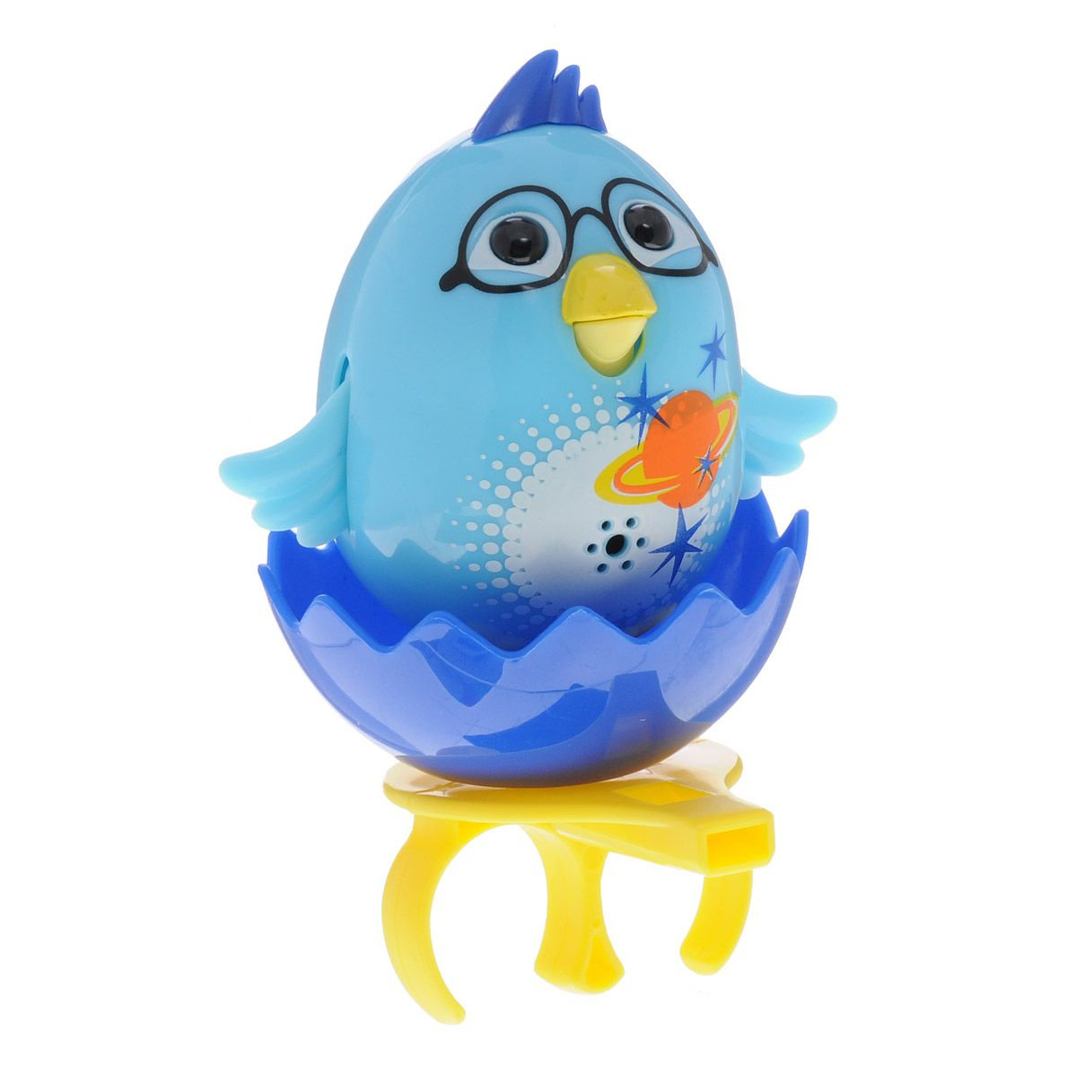 Silverlit Интерактивная игрушка Поющий цыпленок с кольцом Голубой