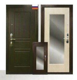 входная стальная дверь с зеркалом надежность