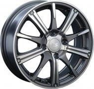 Диски LS Wheels 209 6,5x16 5x112 D57.1 ET50 цвет GMF (темно-серый,полировка) - фото 1