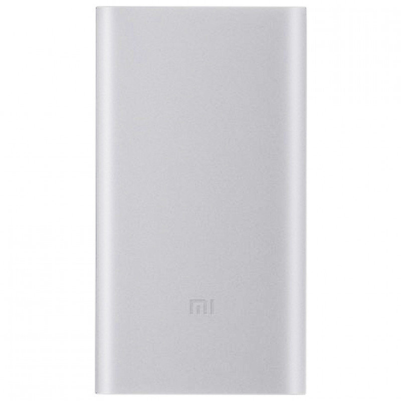 Внешний аккумулятор Xiaomi Mi Power Bank 2i (10000 mAh, серебристый) (PLM09ZM)