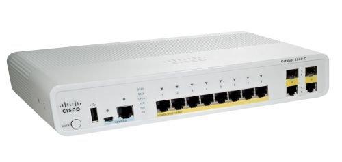 Коммутатор Catalyst Cisco WS-C2960C-8PC-L