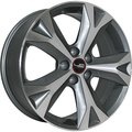 Колесный диск LegeArtis LX57 7.5x18/5x114.3 D60.1 ET35 Серый - фото 1