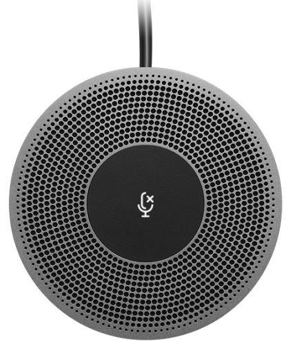 Микрофон для конференций Logitech 989-000405 проводной, для интернет-камеры MeetUp