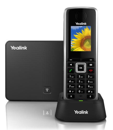 Телефон SIP Yealink W52P черный