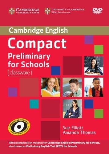 "Sue Elliott, Amanda Thomas ""Compact Preliminary for Schools Classware DVD-ROM"""