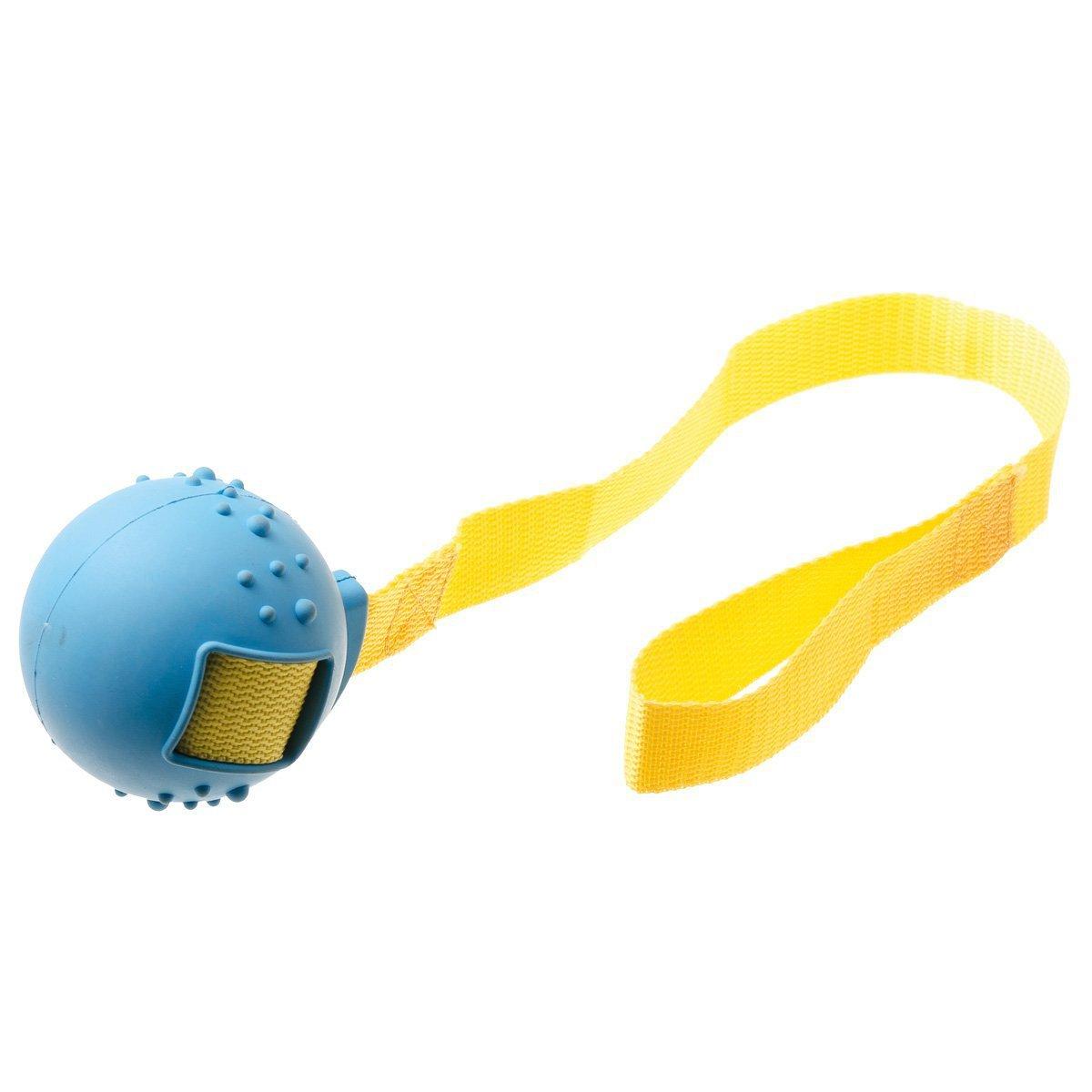 """Игрушка резиновая """"Мяч на ручке большой"""" (диаметр 8см, ручка 50см), V.I.Pet 13125"""