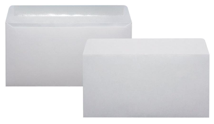 Конверт 206 C65 110x220мм белый клеевой слой 80г/м2 (pack:1000pcs)