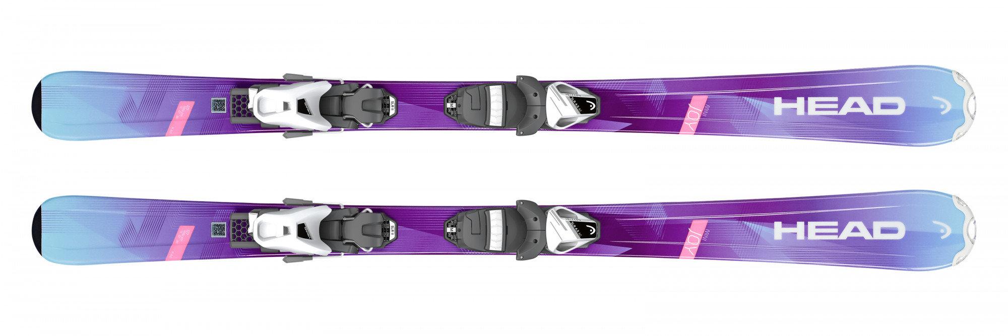 Детские горные лыжи Head Joy SLR2 + Крепления SLR 4.5 AC (2018/2019)