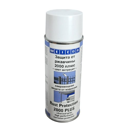 Защита от коррозии 2000 Плюс. Спрей. Темно-серый.(400мл) Rust Protection 2000 WEICON