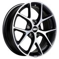 Литой диск BBS SR030 8.5x19 5x108 ET45.0 D70 Vulcano grey diamond cut - фото 1