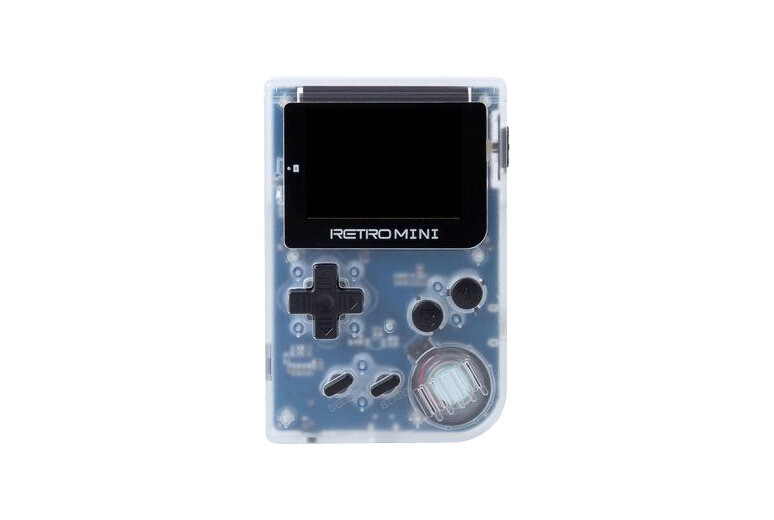 Игровая приставка Unknown Retro Mini (цвет прозрачно-белый) + 40 игр