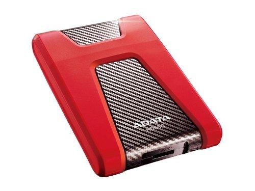 Жесткий диск ADATA 1Tb AHD650-1TU3-CRD, красный