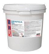Декоративная силиконовая штукатурка Litokol (литокол) LITOTHERM Sil LITOTHERM Grafica Sil, 1.5 мм, Белый