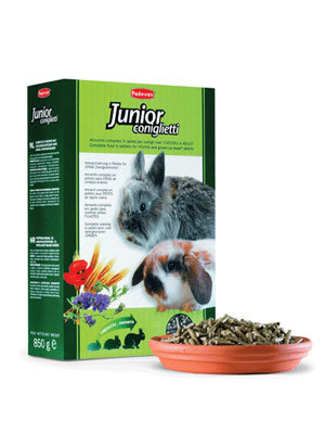 Padovan Grandmix Coniglietti Падован Основной корм для кроликов и молодняка 850г ( Корм для кроликов )