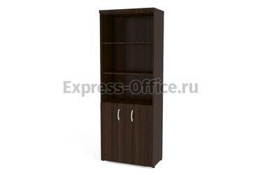 Алсав Кабинеты руководителей Тайм Шкаф книжный с фас. малый 4Ш.011 800x430x2112