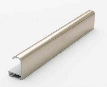 Анодированный алюминиевый профиль. Матовое золото 3.05 м.№2 Nielsen 202002