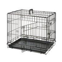 Karlie Flamingo клетка черная цвета для собак (2 двери) 77*47*54 см. арт. 285. 1030491