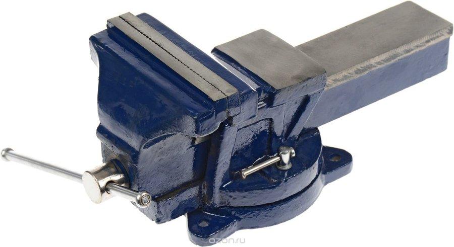 """Тиски слесарные """"Dexx"""", с поворотными механизмом, 15 см"""