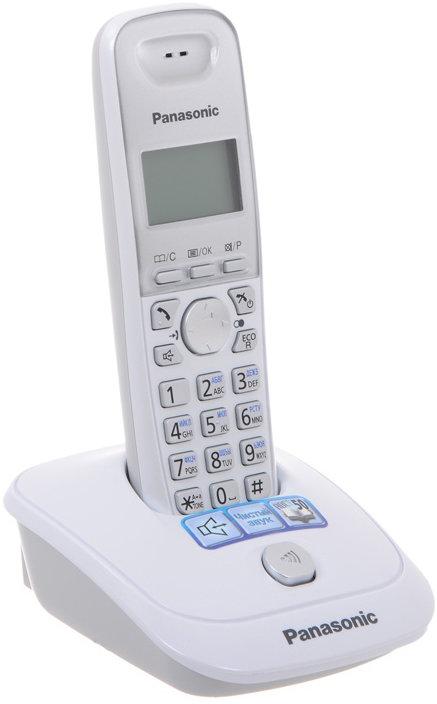 Радиотелефон Panasonic KX-TG2511 (белый)