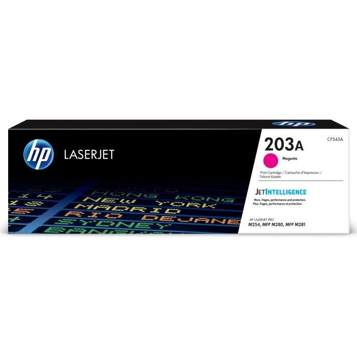 Картриджи, тонеры, фотобарабаны Тонер-картридж HP 203A Magenta LaserJet оригинальный (CF543A)