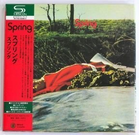 Spring - Spring/ CD [SHM-CD][Cardboard Sleeve (mini LP)][ Limited Edition](Rem, Reissue) Japan