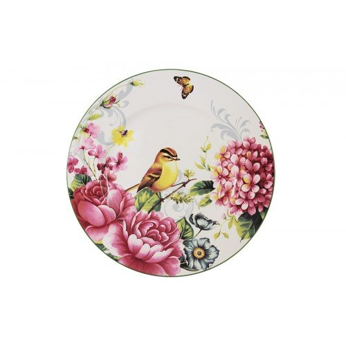 Тарелка Imari обеденная Цветы и птицы