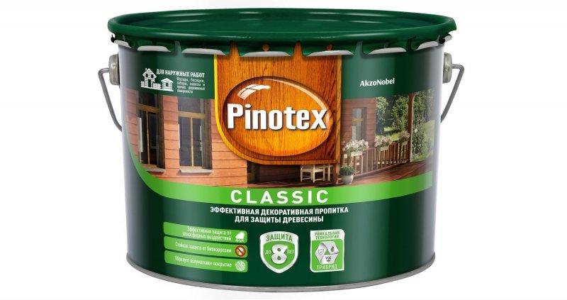Пропитка PINOTEX CLASSIC светлый дуб 9 л.