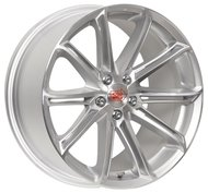 1000 MIGLIA MM1007 8.5x20/5x114.3 D72.6 ET42 Silver Gloss Polished - фото 1