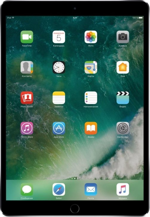 "Планшетный компьютер Apple iPad Pro 10.5"" Wi-Fi 64Gb Space Grey (MQDT2RU/A)"