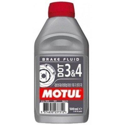 Тормозная жидкость MOTUL DOT 3/4 BF, 0.5 л (102718)