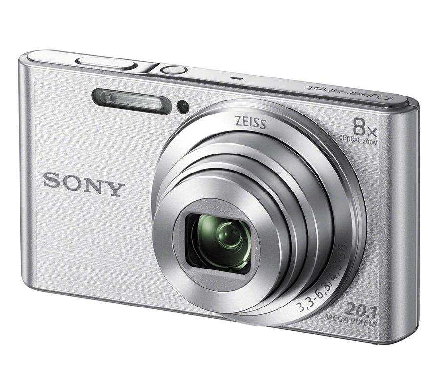 Компактный фотоаппарат SONY Cyber-shot DSC-W830 серебряный