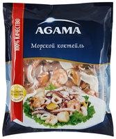 Морской коктейль Agama сыро-мороженый, 300г