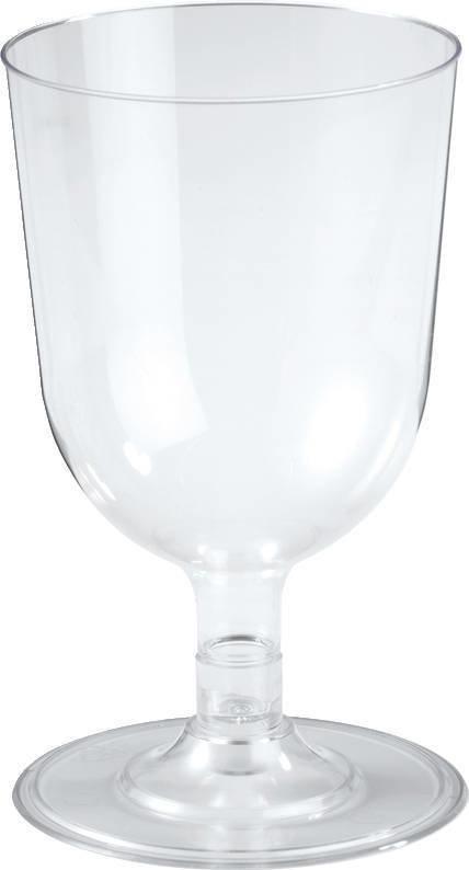 Набор одноразовых бокалов Duni viinilasi