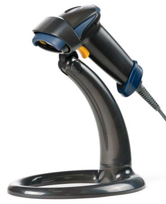 Сканер штрих-кода АТОЛ SB 1101 Plus, 1D Laser, USB, с подставкой, чёрный (40958)
