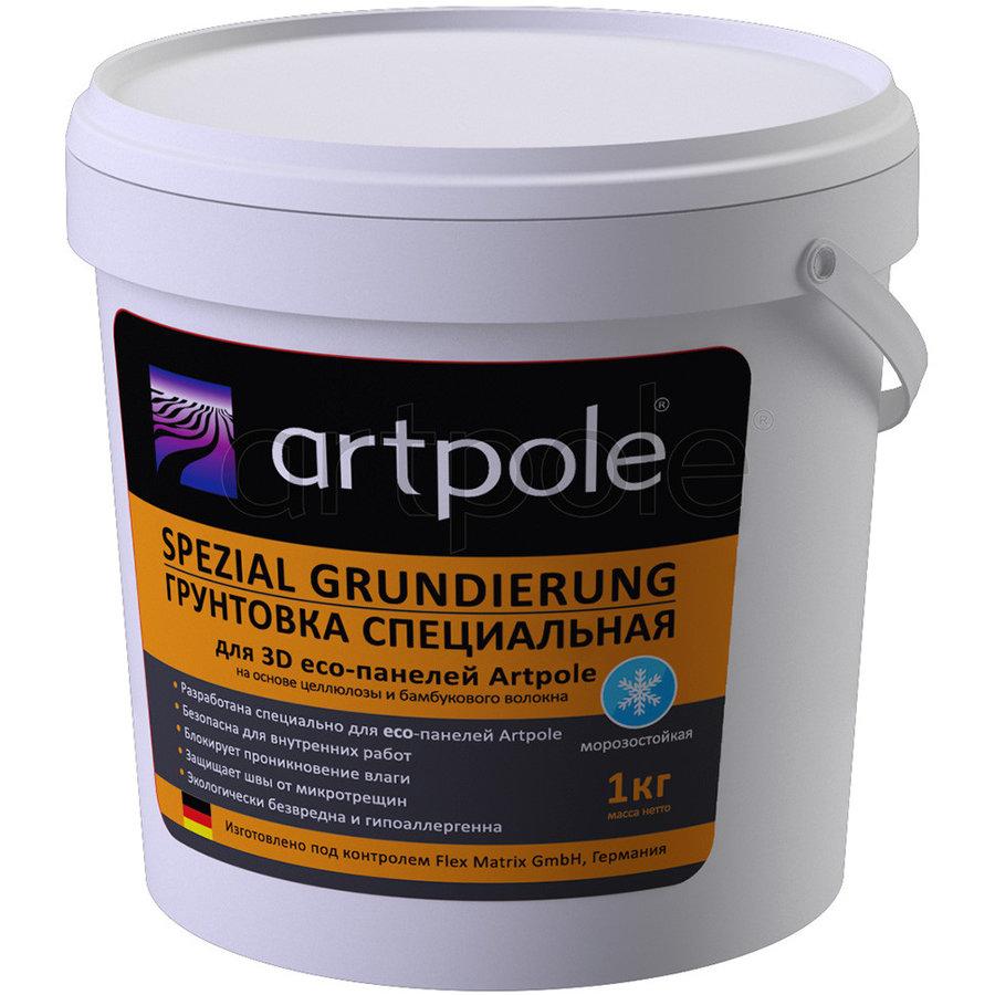 ЭКО Артполе Грунтовка для стеновых 3D еко-панелей (1 кг)