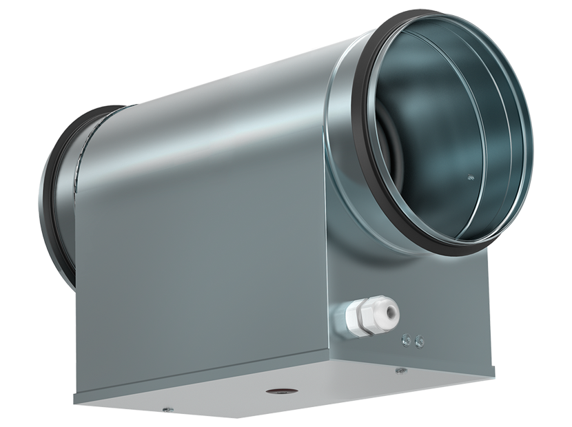 SHUFT Электрический нагреватель для круглого канала EHC 200-5,0/2