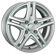 Диски LS Wheels 570 6,5x15 4x108 D73.1 ET27 цвет SF (серебро,полировка) - фото 1