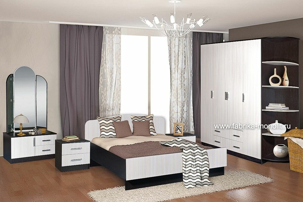 Спальня Светлана-18 Фабрика монолит