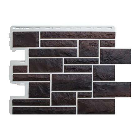 Цокольный сайдинг (фасадные панели) Камень Пражский - цвет 05 (59см)