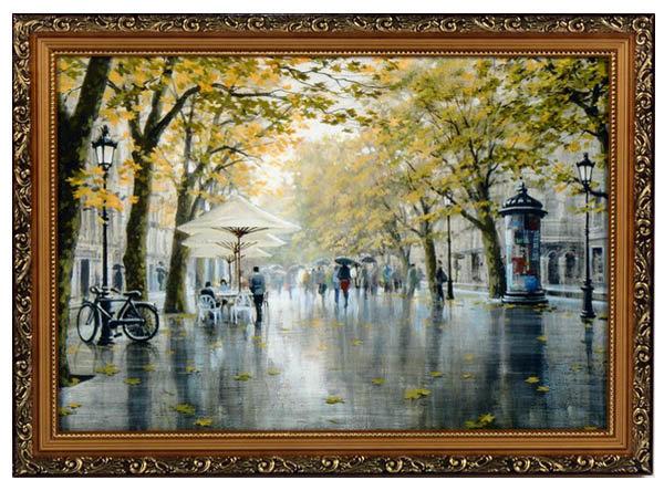 Постер в раме «Улицы Парижа», 40х50 см