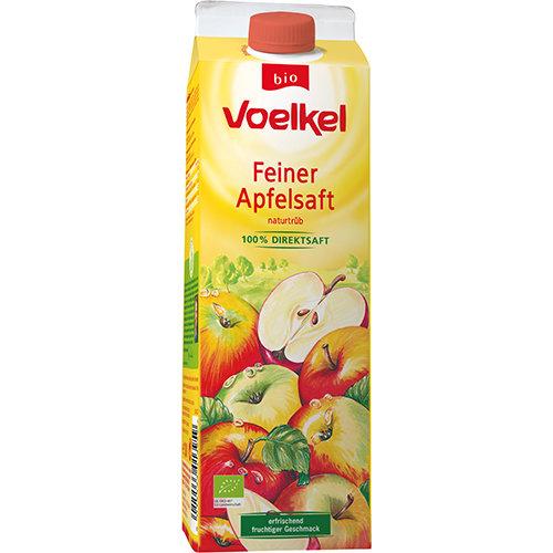 """Био Сок """"Яблочный"""" (неосветленный), прямого отжима, 1000 мл - Voelkel"""