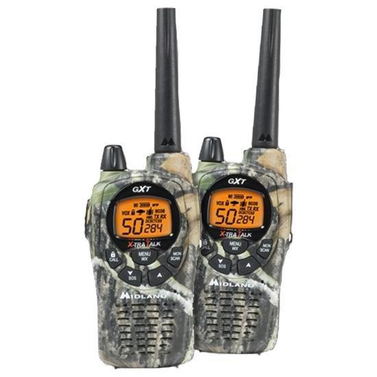 Радиостанция Midland GXT-1050 LPD, 433.075-434.775МГц, 20км, 69 каналов, 4хАА, CTCSS, DCS, 2шт.