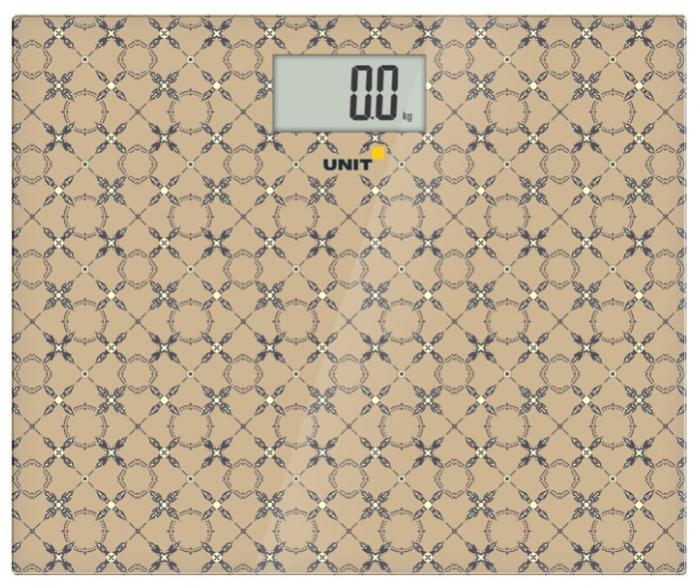 Электронные весы Unit UBS-2080 бежевые