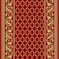 Витебские ковры Ковровая дорожка полушерстяная PALACE ROSE 1x5 м.