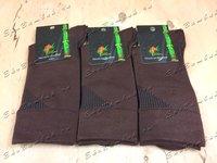 Носки мужские из бамбука шоколад 5 пар размер 39-41 (25)