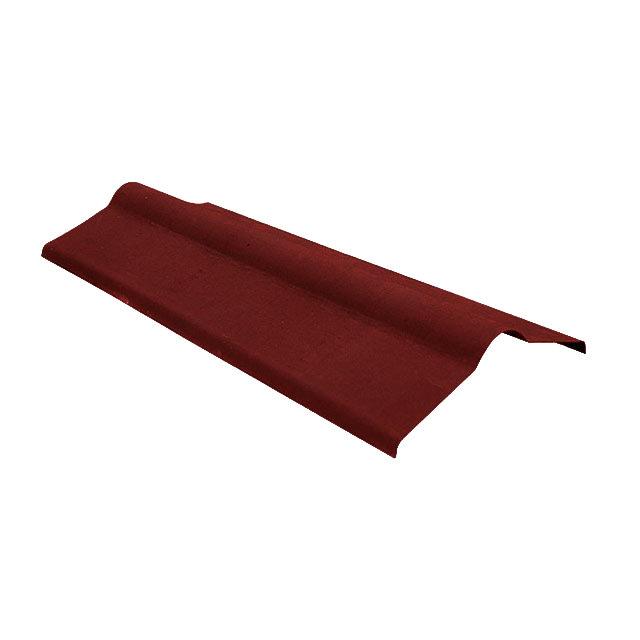 Коньковый элемент Ондулин красный